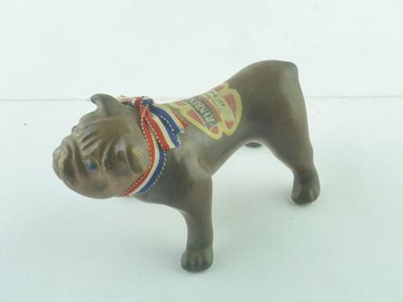 CHERRY BRANDY in Clay Bulldog, 1 x Miniature