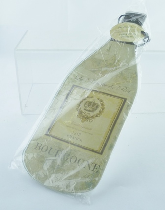ONE BOTTLE-SHAPED CHEESE SERVER with Knife
