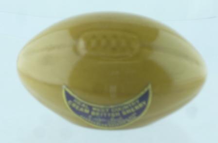 SHERRY RUGBY BALL, 1 x Miniature Novelty bott