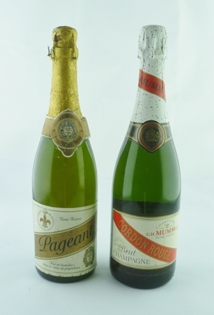MUMM CHAMPAGNE NV, 1 bottle PAGEANT CUVEE RES