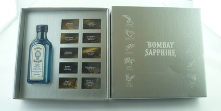 BOMBAY SAPPHIRE with Spices, 1 x Miniature bo