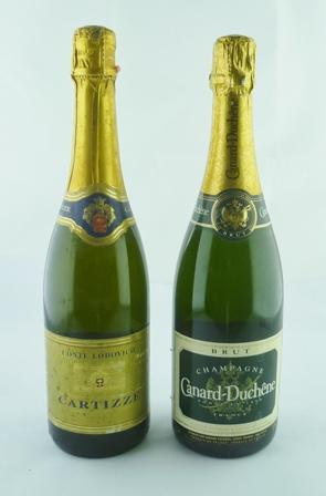 CANARD DUCHENE CHAMPAGNE NV, 1 bottle CARTIZZ