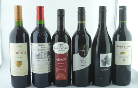 A MIXED LOT OF SIX BOTTLES comprising; Lagioi