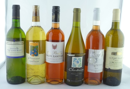 A MIXED LOT OF SIX BOTTLES comprising; Coeur