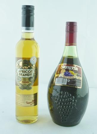 APRICOT BRANDY 24% 1 x 50cl bottle SANGRIA Be