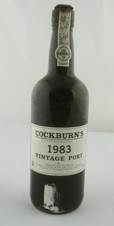 COCKBURNS 1983 vintage port, 1 bottle