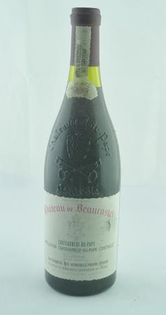 CHATEAU DE BEAUCASTEL 1989 Chateauneuf-du-Pap