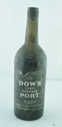 DOWS 1966 vintage port, 1 bottle