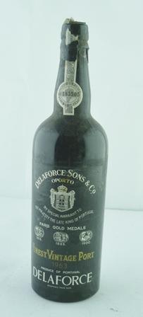 DELAFORCE 1963 vintage port, 1 bottle (no.183