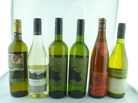 A SELECTION OF SIX MIXED WINES comprising; Wo