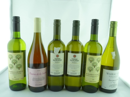 A SELECTION OF SIX MIXED WINES comprising; Ra