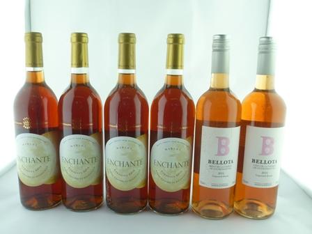 ENCHANTE MERLOT Bordeaux Rose 2007 Baron Phil