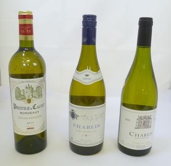 CHABLIS 2009 1 bottle CHABLIS 2010 1 bottle P