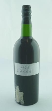 WARRES 1963 vintage port, 1 bottle