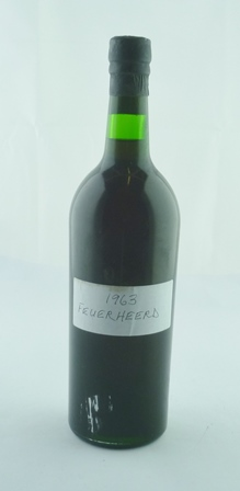 FEUERHEERD 1963 vintage port, 1 bottle