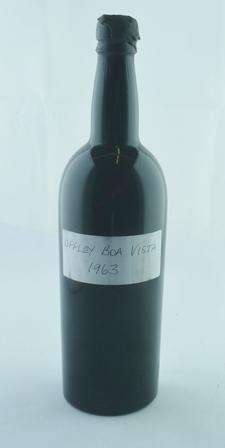 OFFLEY BOA VISTA 1963 vintage port, 1 bottle