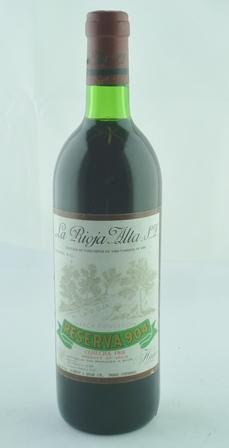LA RIOJA ALTA Gran Reserva 904 1968, 1 bottle