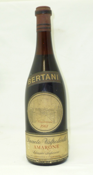 BERTANI RECIOTO VALPOLICELLA AMARONE 1961 1 b