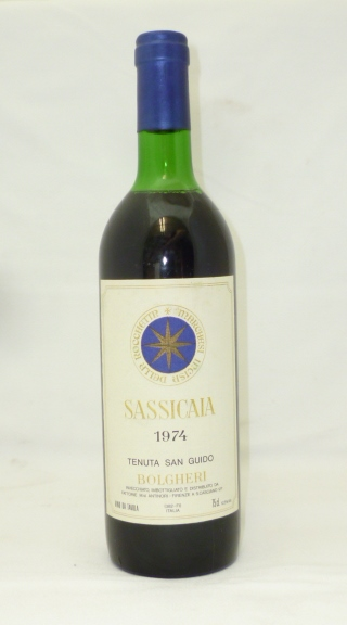 SASSICAIA 1974 TENUTA SAN GUIDO BOLGHERI, 1 b