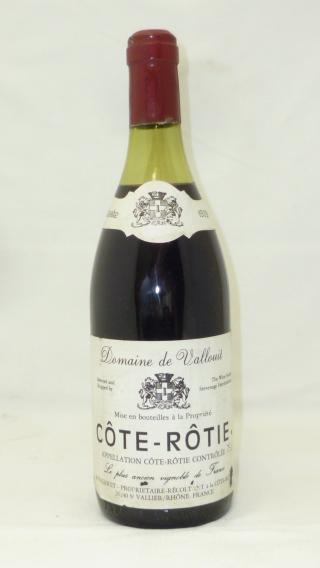 COTE-ROTIE 1979 Domaine de Vallouit, 1 bottle