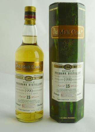 ROSEBANK 1990 Single Cask Single Malt Scotch