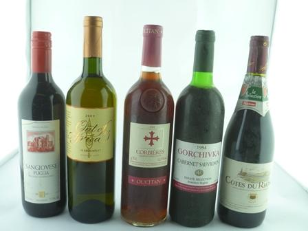 COTES DU RHONE 2006, 1 bottle GORCHIVKA 1994,