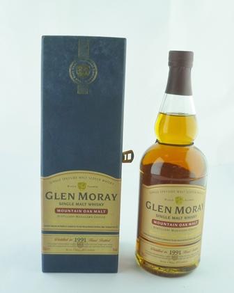 GLEN MORAY 1991 Mountain Oak Malt, 60.5%, bot