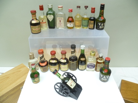 A COLLECTION OF 20 MINIATURE SPIRITS includin