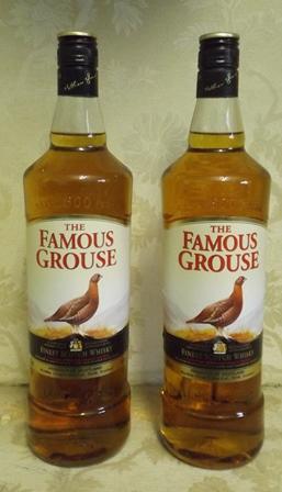 FAMOUS GROUSE Blended Scotch Whisky, 2 x litr
