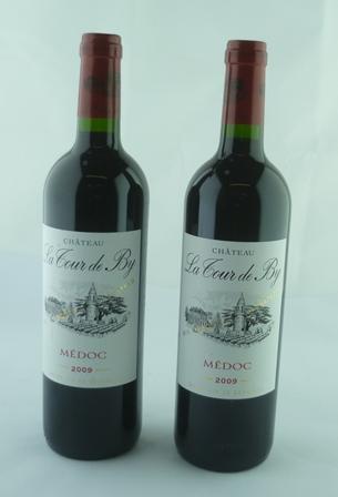 CHATEAU TOUR DE BY 2009 Medoc, 2 bottles