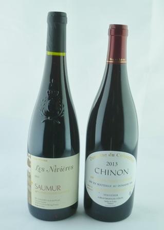 SAUMUR LES NIVIERES 2011, 1 bottle CHINON 201