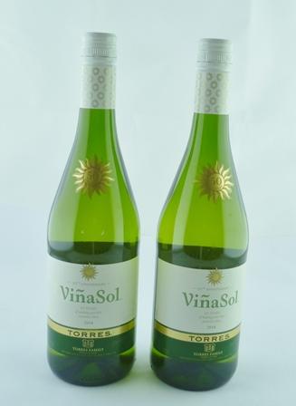 VINA SOL TORRES 2014, 2 bottles