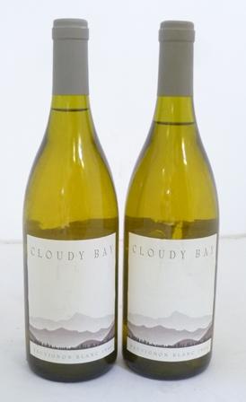 CLOUDY BAY 1996 Sauvignon Blanc,  2 bottles