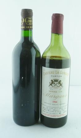 CHATEAU LA GURGUE CURTON 1966 Grand Vin Marga
