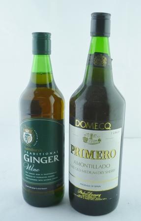 DOMECQ PRIMERO AMONTILLADO 1 litre GINGER WIN