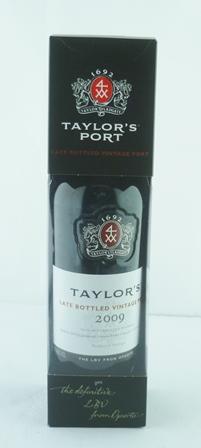 TAYLORS LBV 2009 vintage port, 1 bottle boxed