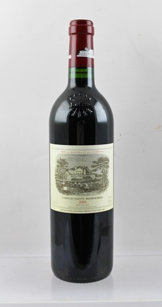 CHATEAU LAFITE ROTHSCHILD 2001, Pauillac 1 bottle