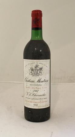CHATEAU MONTROSE 1982 St Estephe, 1 bottle