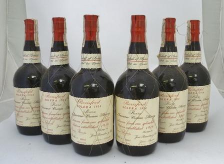 BERISFORD SOLERA 1914 RARE AMOROSO CREAM SHERRY, Alc 20%, 6 x 72cl numbered bottles incl. 68,087