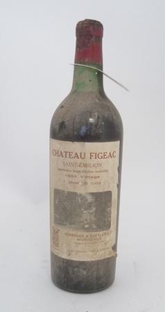 CHATEAU FIGEAC 1959 1er Grand Cru Classe, Maison Schroder & Schyler, 1 bottle