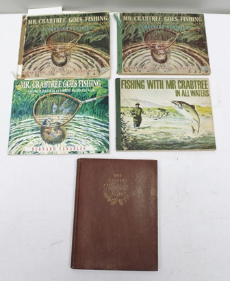 MR CRABTREE GOES FISHING by Bernard Venables, autographed by the author, together with correspondence, two further later copies of Mr Crabtree Goes Fishing, Fishing with Mr Crabtree and The Anglers Companion by Bernard Venables, one volume