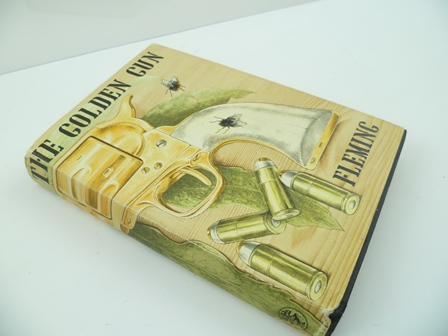 FLEMING, IAN The Man With The Golden Gun, first edition 1965, Jonathan Cape, London, 1 black cloth volume, tooled spine, with dust wrapper