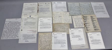 APPROXIMATELY 70 LETTERS WRITTEN TO DAVID REID HENRY FROM THE TYRON GALLERY, D.A. Bannerman, Col. Meinertzhagen, Oliver & Boyd, Country Life, H.F. & G. Witherby, in box file