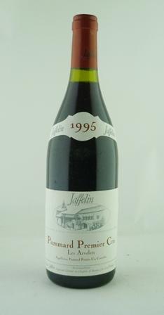 POMMARD PREMIER CRU LES ARVELETS 1995 Jaffelin, 12 bottles in o.c.