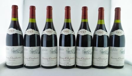 GEVREY-CHAMBERTIN 1997 Jaffelin, 7 bottles in o.c.