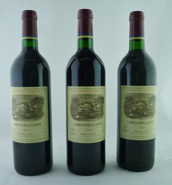 CARRUADES DE LAFITE ROTHSCHLD 1997 Pauillac, 3 bottles