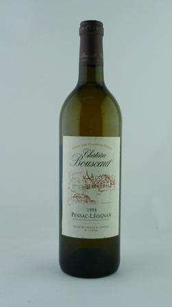 CHATEAU BOUSCAUT 1996 Pessac-Leognan, Grand Cru Classe de Graves, chateau bottled, S. Lurton, 12 bottles