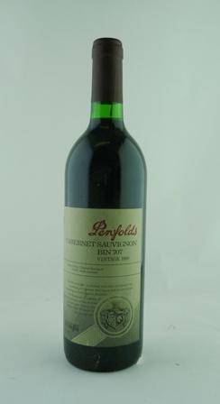 PENFOLDS CABERNET SAUVIGNON Bin 707 1998, 1 bottle