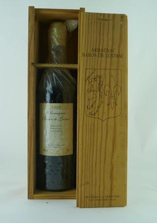 BARON DE LUSTRAC 1949 AC Armagnac, 1 bottle in owc