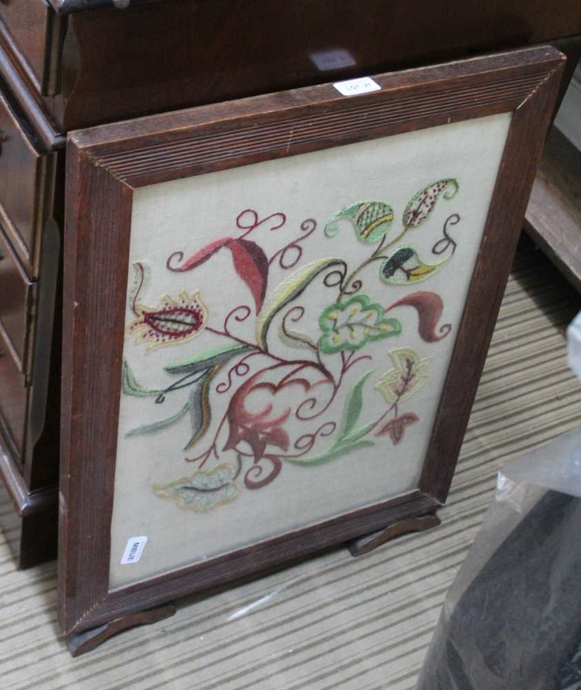 A FIRST QUARTER 20TH CENTURY WOODEN FRAMED FO